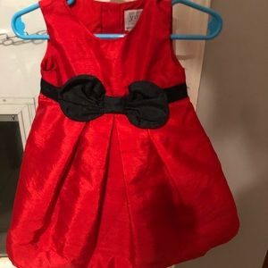 Red special occasion dress, 12 months